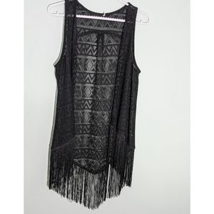 Lace Bathing Suit Cover-up XS